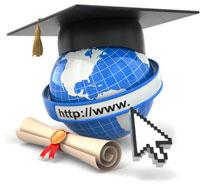 Globe graduation cap